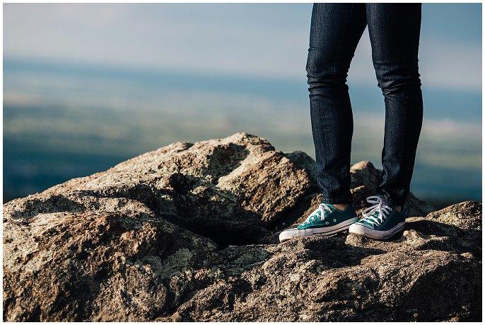 converse on rocks boulder colorado photo