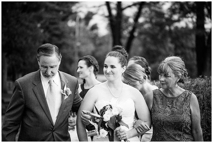 Washington Park garden wedding photo
