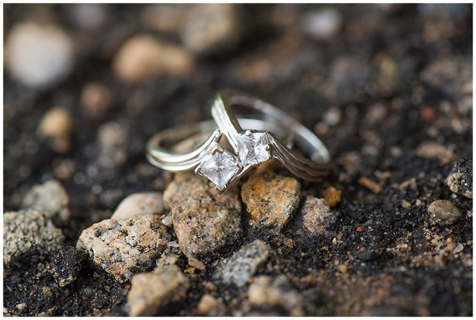 LGBT Wedding rings photo