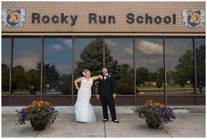 Foxchase Manor Wedding reception photo 15