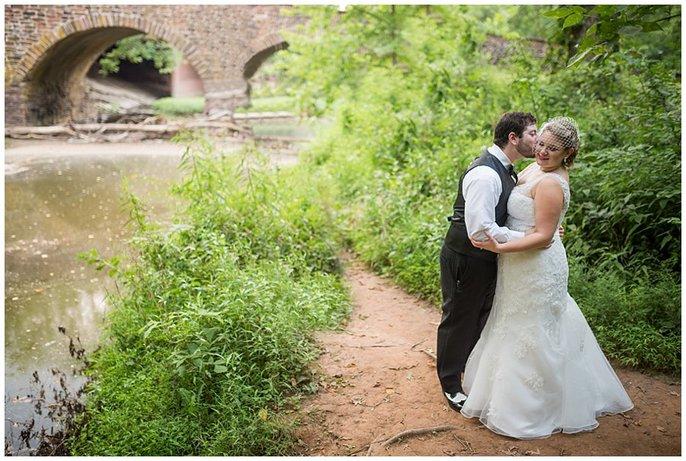 Manassas Battlefield wedding photo