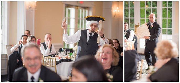 Foxchase Manor Wedding reception photo 10
