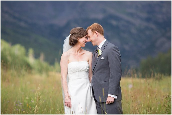 Piney River wedding couples portraits photo