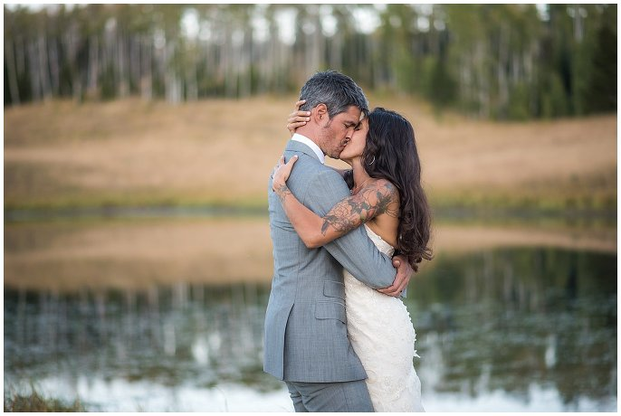 Midnight Ranch wedding couples photo