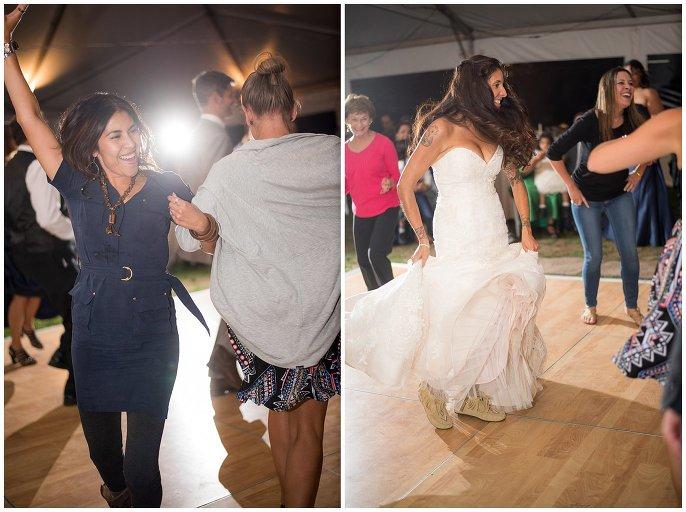 Midnight Ranch wedding reception photo