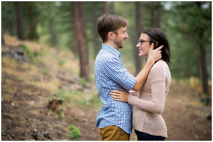 Genesee Park Engagement photo