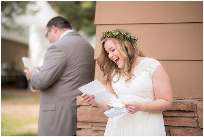 first look colorado mountain wedding photo