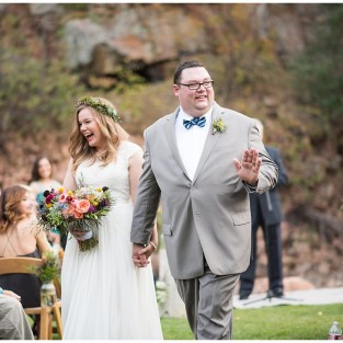 Lyons Riverbend wedding ceremony photo