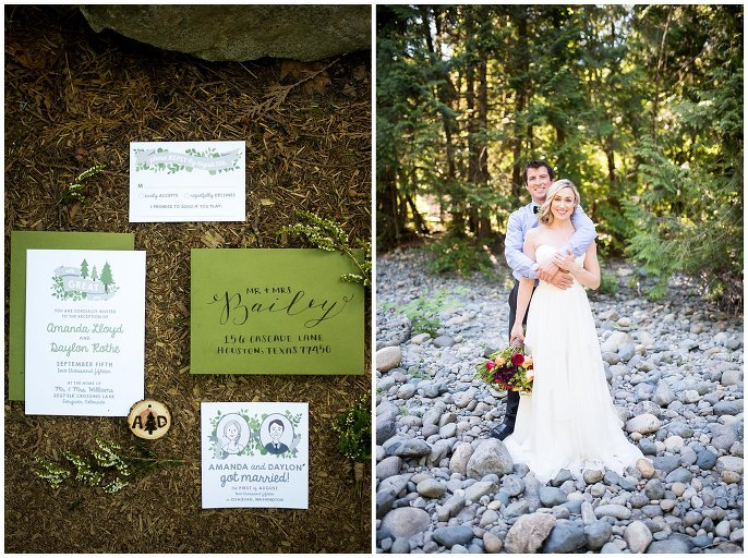Treehouse Point Wedding elopement photo
