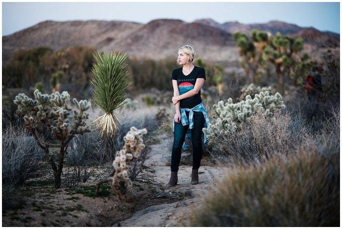 Coloradical shirt in the desert photo