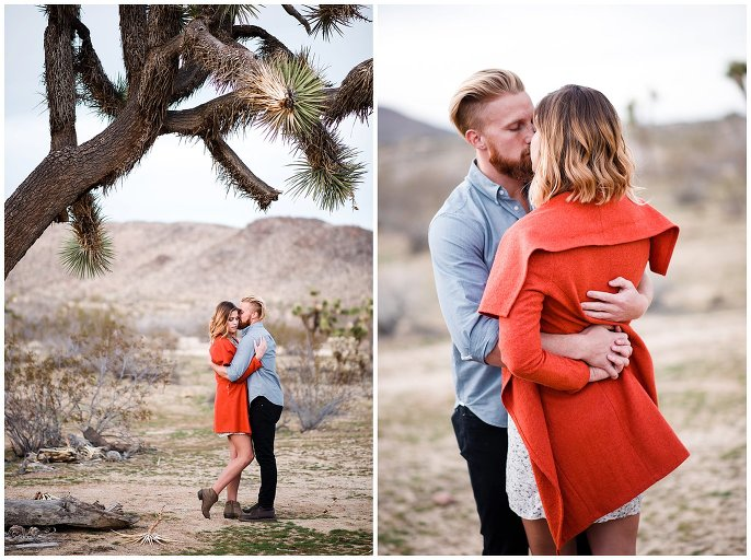 southern california engagement photo