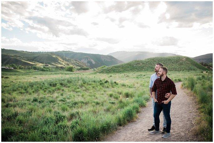Vail Colorado Engagement photo