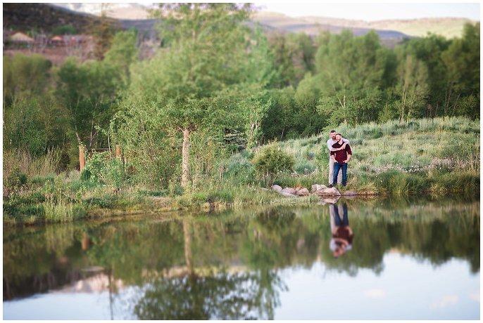 reflection shot by lake gay photo