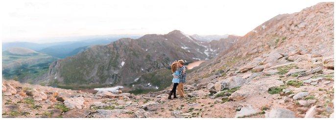 Mt. Evans Engagement photo