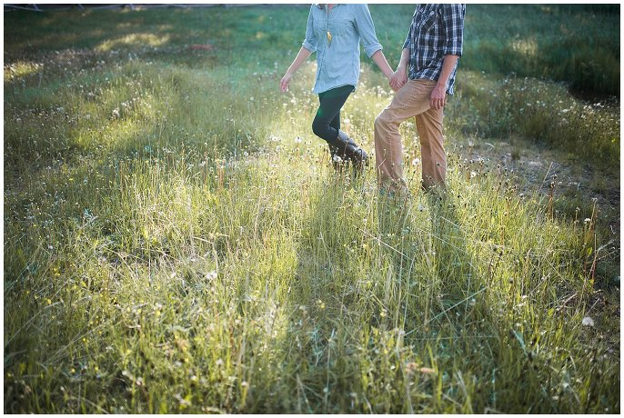 Echo Lake Engagement photo