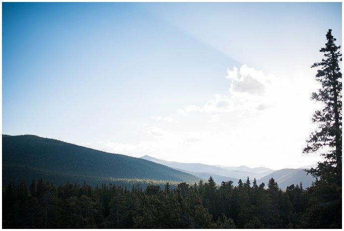View of Echo Lake Colorado