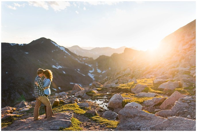 Mt. Evans Engagement photo