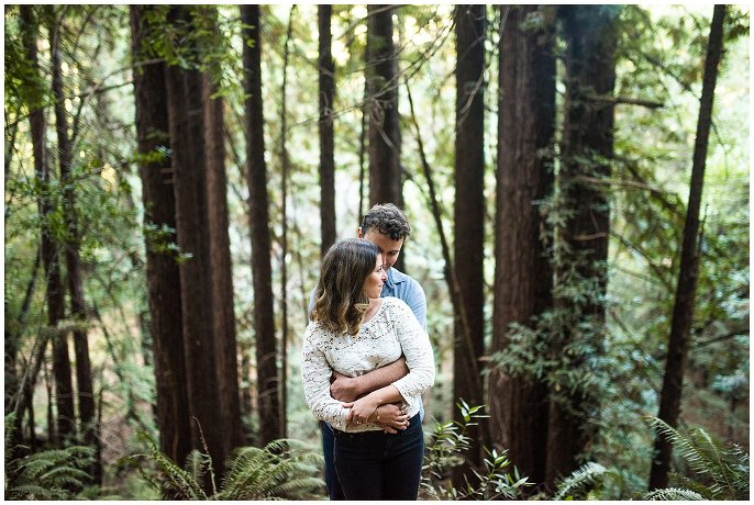 Redwood Regional Park Oakland Engagement session