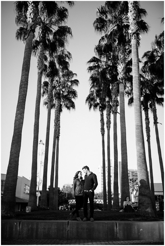 Jack London Square Oakland Engagement photo