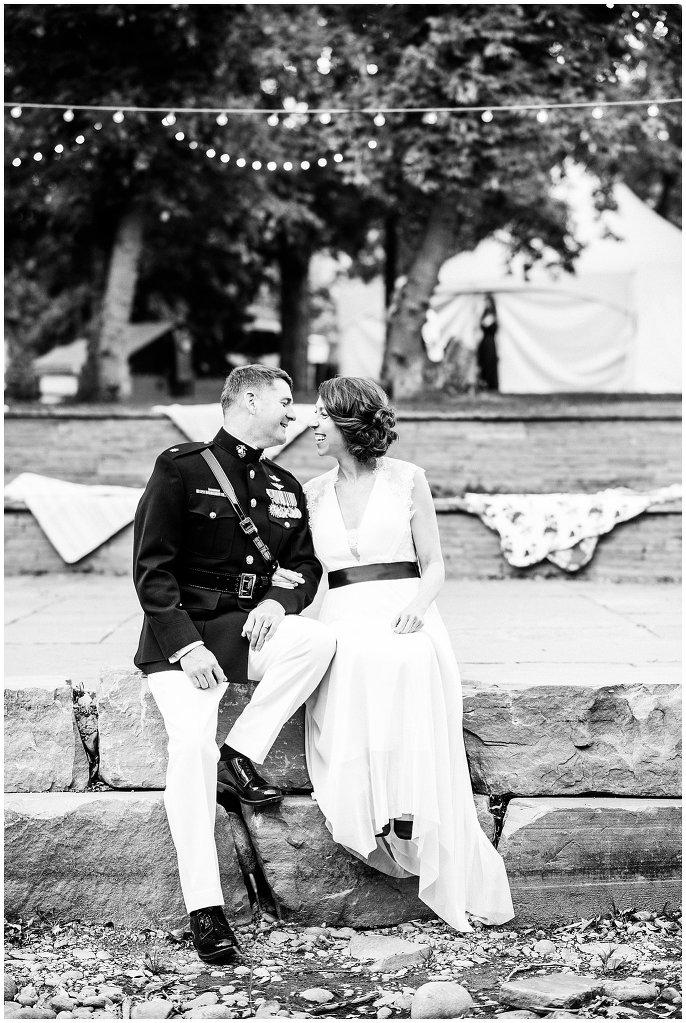lyons colorado intimate wedding photo
