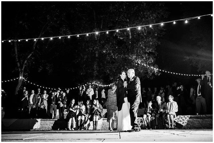 first dance outdoor colorado wedding photo