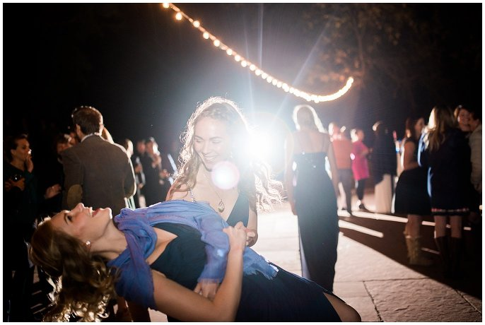fun wedding dance photo