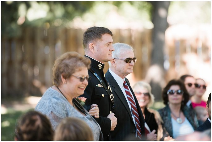 groom in military dress photo