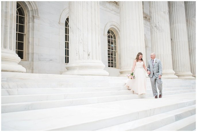 Downtown Denver Courthouse wedding photo