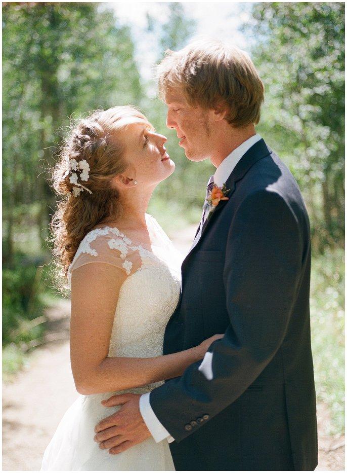 Granby Ranch wedding film photo