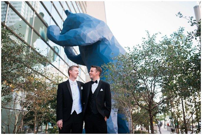 Denver Center for Performing Arts same-sex wedding photo