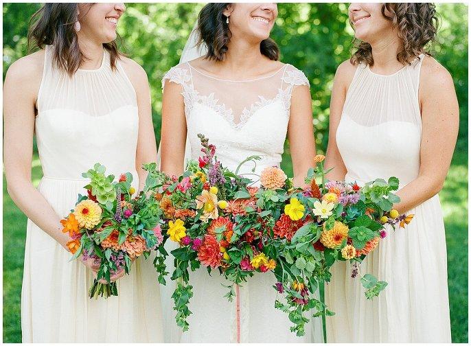 The Lyons Farmette Wedding bridal party photo