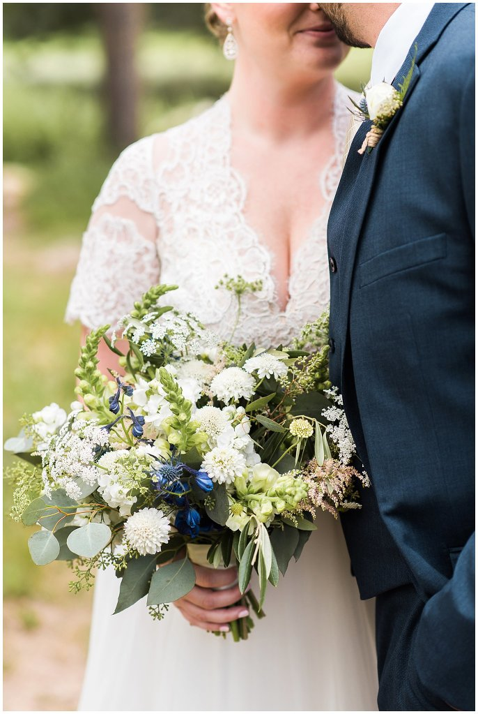 wildflower wedding bouquet photo