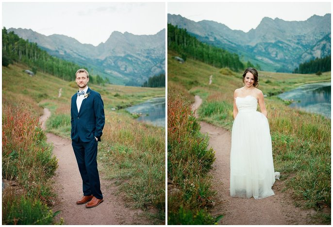 Piney River Ranch summer wedding photo