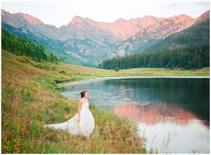 Piney River Ranch Intimate Wedding photo
