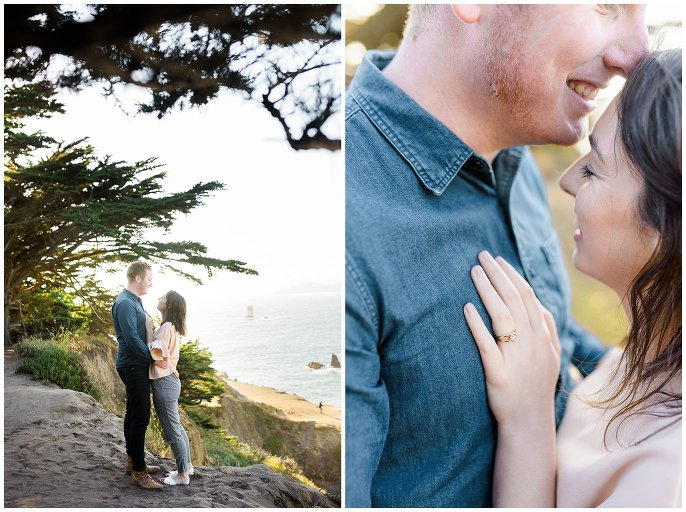 Northern california engagement photo